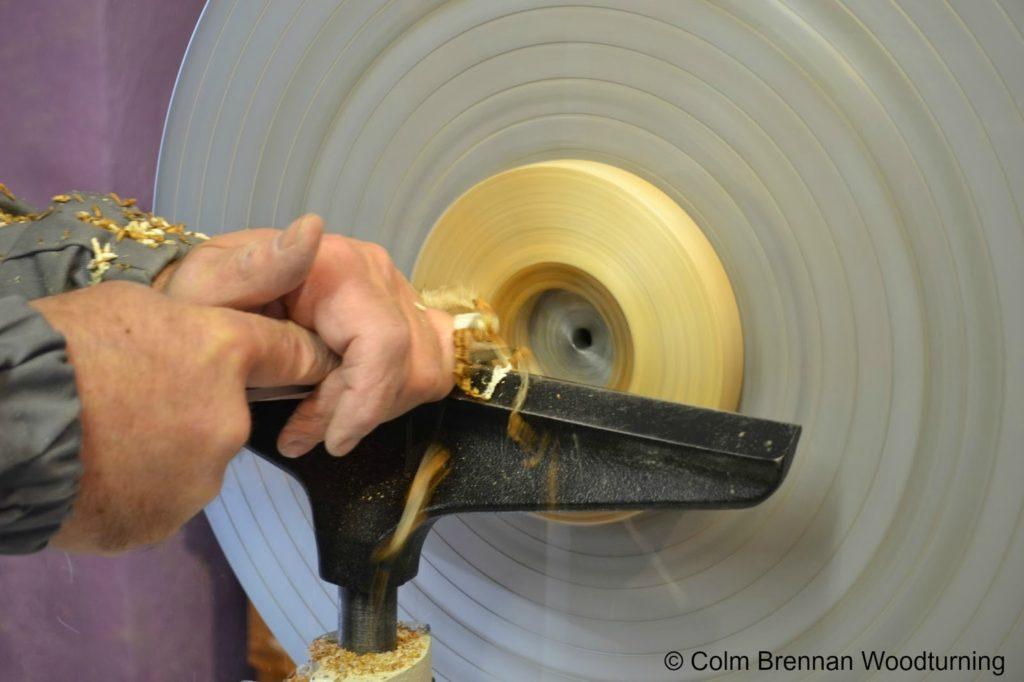 Colm Brennan Woodturning Lathe Image