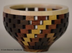 Small Open Segmented Bowl